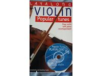 Play along Violin Popular tunes with CD