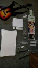 WII CONSOLE WITH LOTS OF ACCESSORIES