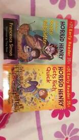 Horrid Henry early reader books- new