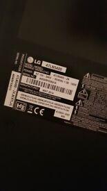 """FOR REPAIR - LG 47"""" LED TV"""