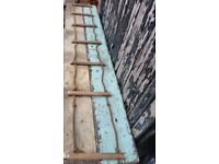 Vintage - Rope ladder with wooden rungs - 2.7 metres
