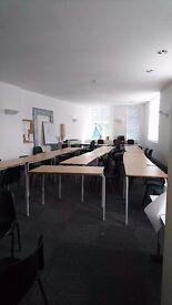 Office Room To Let hourly or daily what you require FREE for the First Hour (first time)!