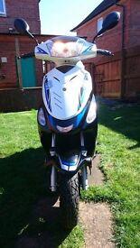 Longjia LJ50QT 49cc NEW + Helmet