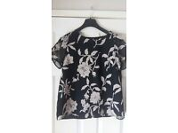 New Ladies Womens Summer Top size 12/14