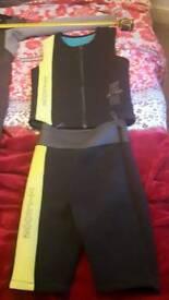 Typhoon 2 piece wetsuit