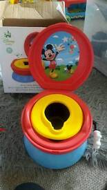 mickey potty