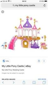 early learning centre wimdmill and my little pony wedding castle