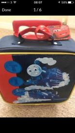 Thomas & friends case/ overnight bag