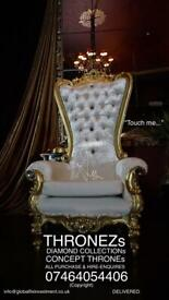 THRONE CHAIRS - SALES & HIRE 💯%
