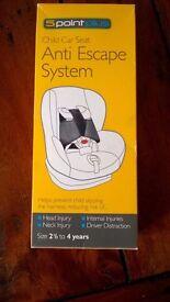 5-Point Plus - Child Car Seat Anti-Escape System