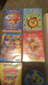 Kids music DVD