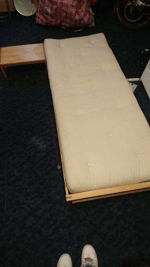 Futon single bed