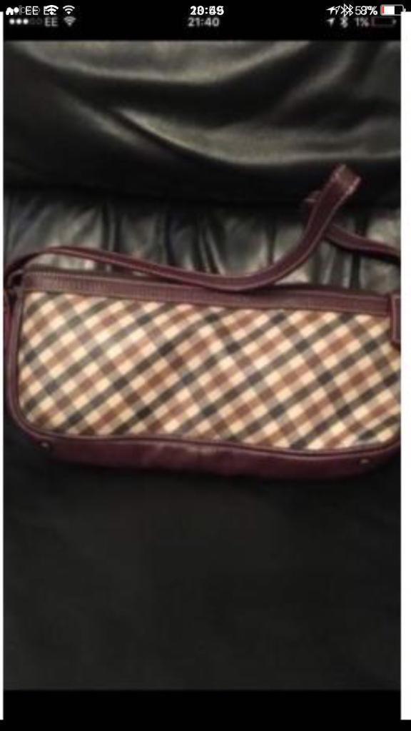 AQUASCUTUM hand bag