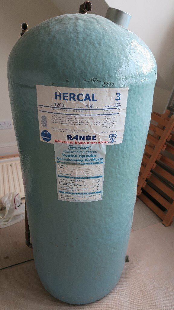 Hercal Vented Hot Water Cylinder With Built In Immersion