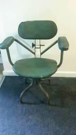 Vintage Evertaut swivel chair (unrestored)