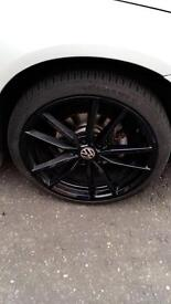 """19"""" golf r alloys and tyres"""