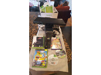 XBOX 360, Kinect, accessories and games