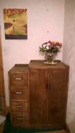 CHIFFEROBE wardrobe closet chest of drawers armoire vintage antique