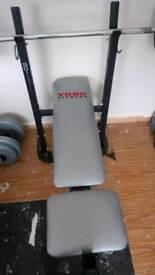 York weight bench some weight 84kg
