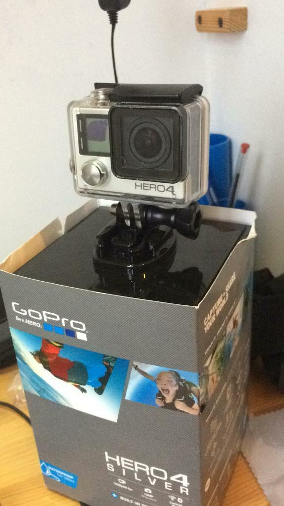 GoPro Hero 4 including mounts