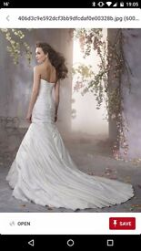 Unworn Alfredo Angelo Wedding Dress Size 10-12