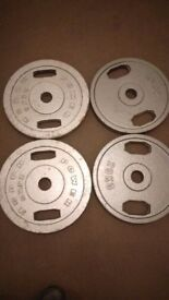 Olympic weights 90kg 2/25 2/20kg
