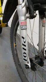 Mountain bike sold for parts (incl rock shox)