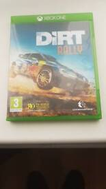 Dirt rally for xbox one in excellent condition