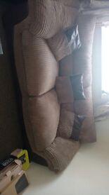 3seater and big corner sofa