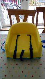 Mothercare toddler booster seat and step