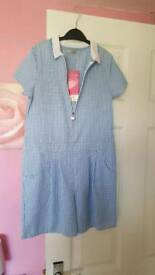School dress/shorts size 8-9 years