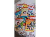 Set of 10 Horrid Henry books