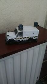 scale model landrover