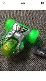 Ezrec RC remote control lightening flipper car