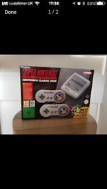 Nintendo Snes classic brand new boxed
