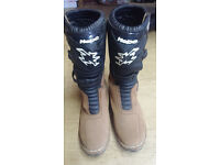 Hebo motorcross / trials boots, adult size 10.5/11, brilliant condition