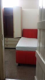 Small single furnished room for single working person is available