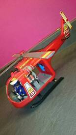 Playmobil rescue helicopter