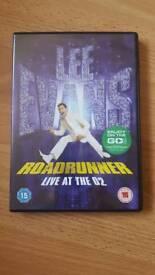 Lee Evans Roadrunner Live At The O2 dvd