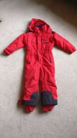 Trespass child ski suit 104 - 110 cms