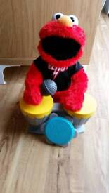 Elmo Lets Rock Interactive Sings Plays as New