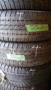 Two tires size 265 70 17 for sale
