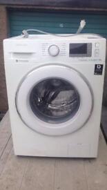 Samsung eco bubble 9kg washing machine , excelllent working order, still under warranty