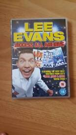Lee Evans Access All Arenas DVD
