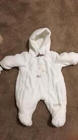 Newborn snow/winter suit, Mamas & Papas