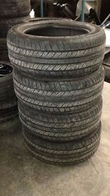 Dunlop PT2A Grand Track 285 / 50 / 20 Part Worn Tyres 4-5mm tread