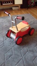 Hape Little Red ride/push along