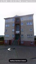 2 bedroom duplex apartment for rent in Lenadoon/Shaws road.