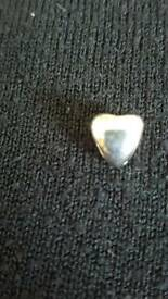 LOVELINKS SILVER HEART CHARM - BRAND NEW