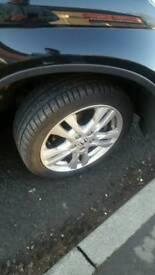 Set of 4 tyres wheels